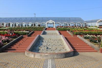 島田市ばらの丘公園(正面)