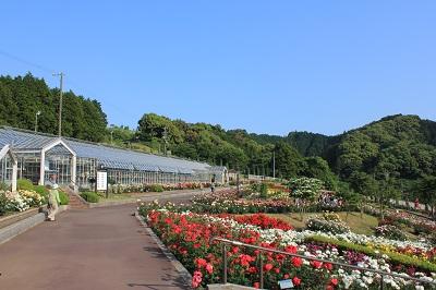 島田市ばらの丘公園(全体)