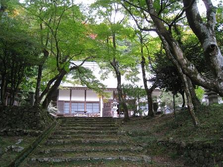 大洞院(本堂と紅葉)