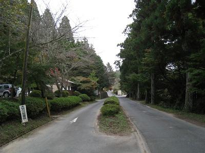 大洞院(駐車場入り口)
