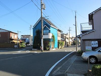 袋井宿(旧東海道の入口)