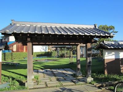 袋井宿(袋井宿場公園)
