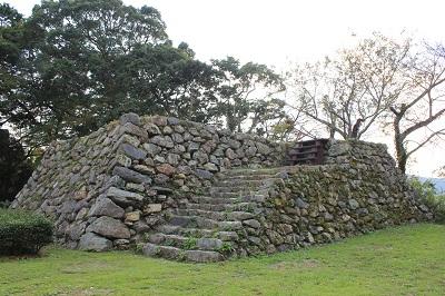 二俣城址(石垣)