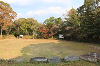 二俣城址(城跡前の公園)