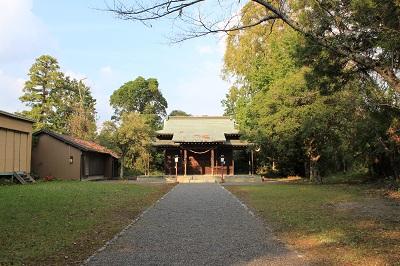 二俣城址(旭ヶ丘神社)