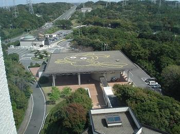 浜岡原子力館(展望台から)