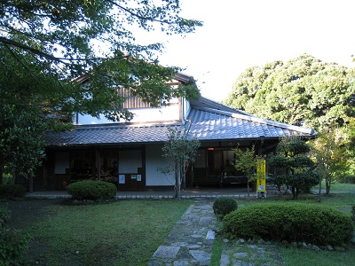 旧東海道金谷坂の石畳(石畳茶屋)