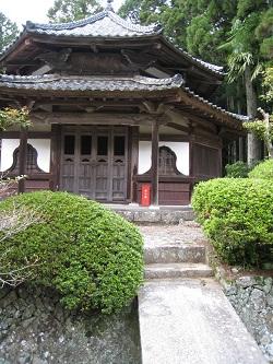 静居寺(八角堂)