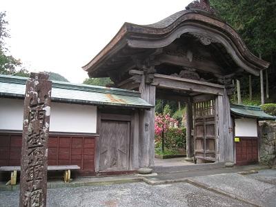静居寺(惣門)