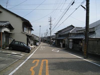 蒲原宿(街並み)
