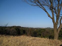 勝間田城跡(見晴らし)