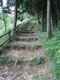 勝間田公園(階段)