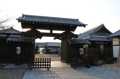 気賀関所(冠木門)
