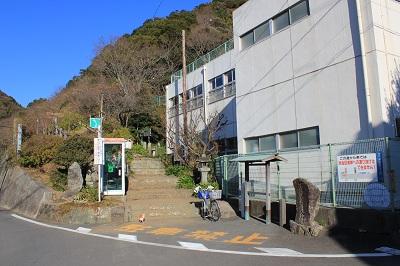 虚空蔵山・入口