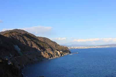 虚空蔵山(静岡市方面を望む)