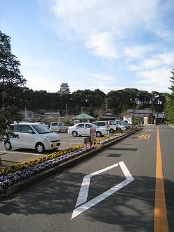 小山城(駐車場)