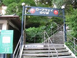 日本平ロープウェイ(久能山駅)