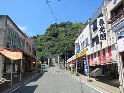 久能山東照宮(お土産店通り)