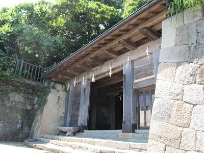 久能山東照宮(石段終点)