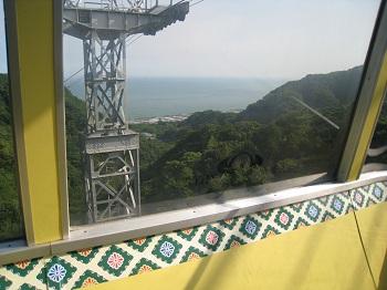 久能山東照宮(ゴンドラからの景色)