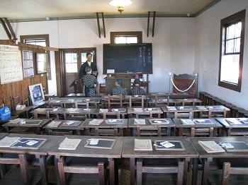 旧見付学校(教室内)