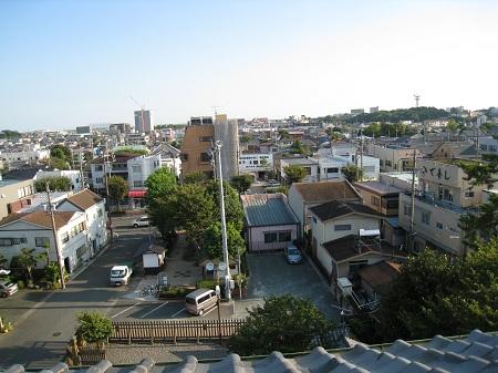旧見付学校(最上階からの眺め)