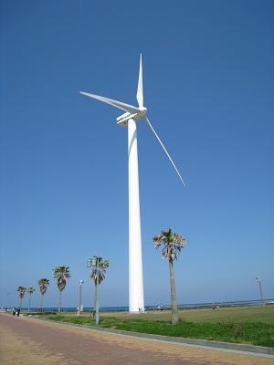 マリンパーク御前崎(風力発電)