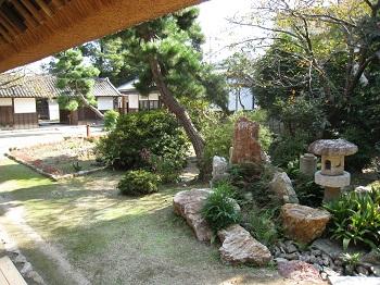 中村家住宅(庭)