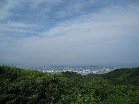 日本平(東展望台からの眺め)