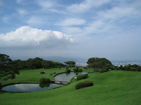 日本平(日本平ホテルの庭園)