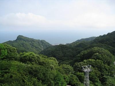 日本平(ロープウェイからの眺め)