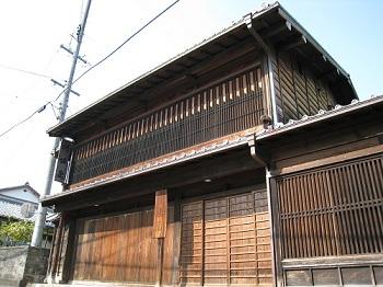 日坂宿(川坂屋)