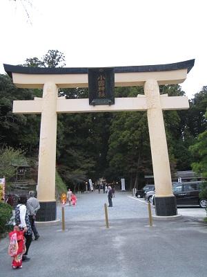 小国神社(大鳥居)
