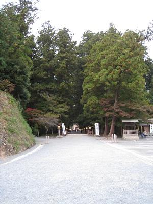 小国神社(参道1)