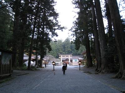 小国神社(参道2)