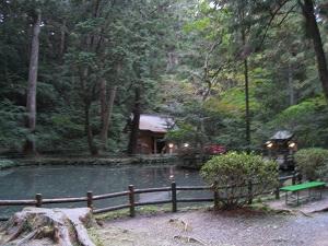 小国神社(池)