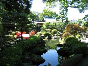 大井神社(御神池)