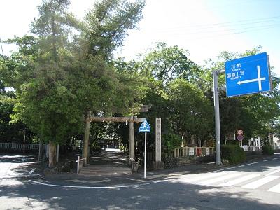 大井神社(東側の鳥居)