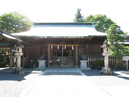 大井神社(大井神社拝殿)