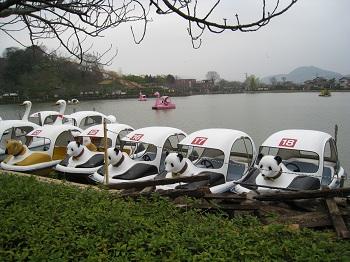 蓮華寺池公園(パンダボート)