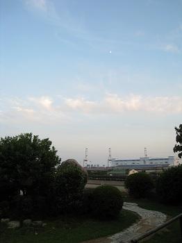 清見寺から望む駿河湾