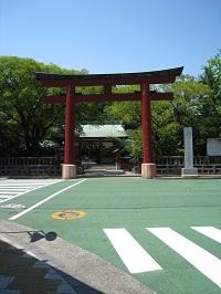 静岡浅間神社(赤鳥居)