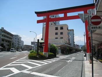 静岡浅間神社(大鳥居)