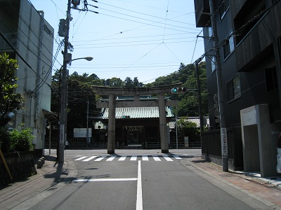静岡浅間神社(石鳥居)