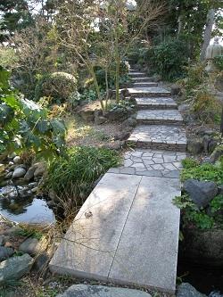 清水邸庭園(橋)