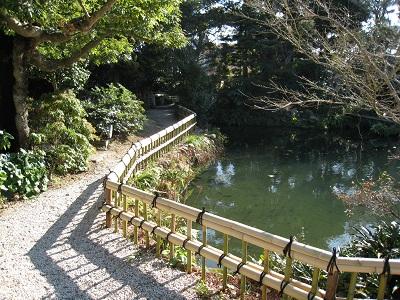 清水邸庭園(池)