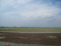富士山静岡空港(JAL機)