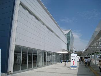 富士山静岡空港(建物入口)