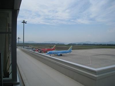 富士山静岡空港(FDA機)