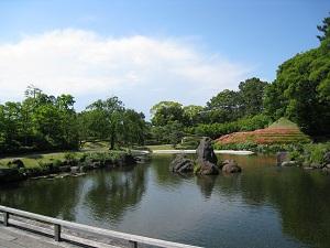 駿府城公園-紅葉山庭園1